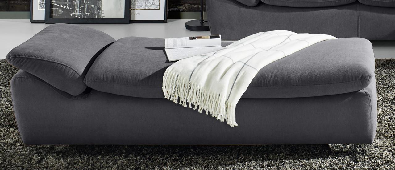 ecksofa eckcouch lena 142 longchair davorstehend links verstellbare armlehnen ebay. Black Bedroom Furniture Sets. Home Design Ideas
